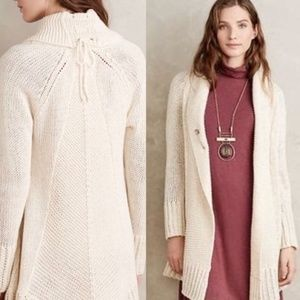 Anthropologie Angel of the North Fidus Cardigan S
